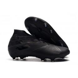 Crampons Nouveaux adidas Nemeziz 19+ FG Noir