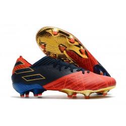 Chaussures de football adidas Nemeziz 19.1 FG X Marvel Rouge Bleu Noir