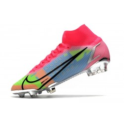 Nike Mercurial Superfly VII Elite SG PRO AC Bleu Rouge