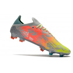 Crampons de Football adidas Copa 20+ FG Noir Vert signal