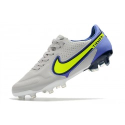 Crampon Nike Mercurial Superfly VII Elite DF FG Bleu Rose Or