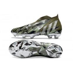 Crampon de Foot Nike Phantom GT Elite FG Gris Bleu Noir