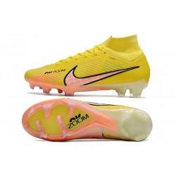 Chaussures de Foot Nike Phantom GT Elite DF FG Blanc Or