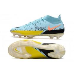 Nike Phantom GT Elite DF FG Neuf Crampons Argent Bleu