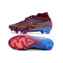 Nike Nouvel Chaussures Phantom GT Elite FG Bleu Jaune