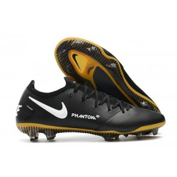 Nike Nouvel Chaussures Phantom GT Elite Tech Craft FG Noir Or
