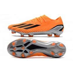 adidas Chaussure de Foot Nemeziz 19+ FG Vert Orange Noir