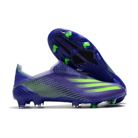 Crampons Foot adidas X Ghosted+ FG Violet Vert