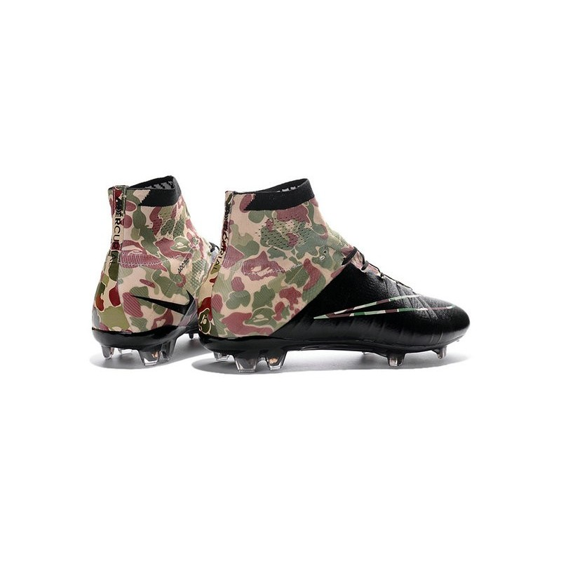 Fg Camouflage Crampon 2016 Neuf Mercurial Noir Chaussure Superfly qwgfpp