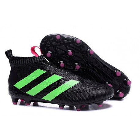 finest selection 2dd59 6dce7 Crampons de Foot adidas Ace16+ Purecontrol FGAG Neuf Noir Ve