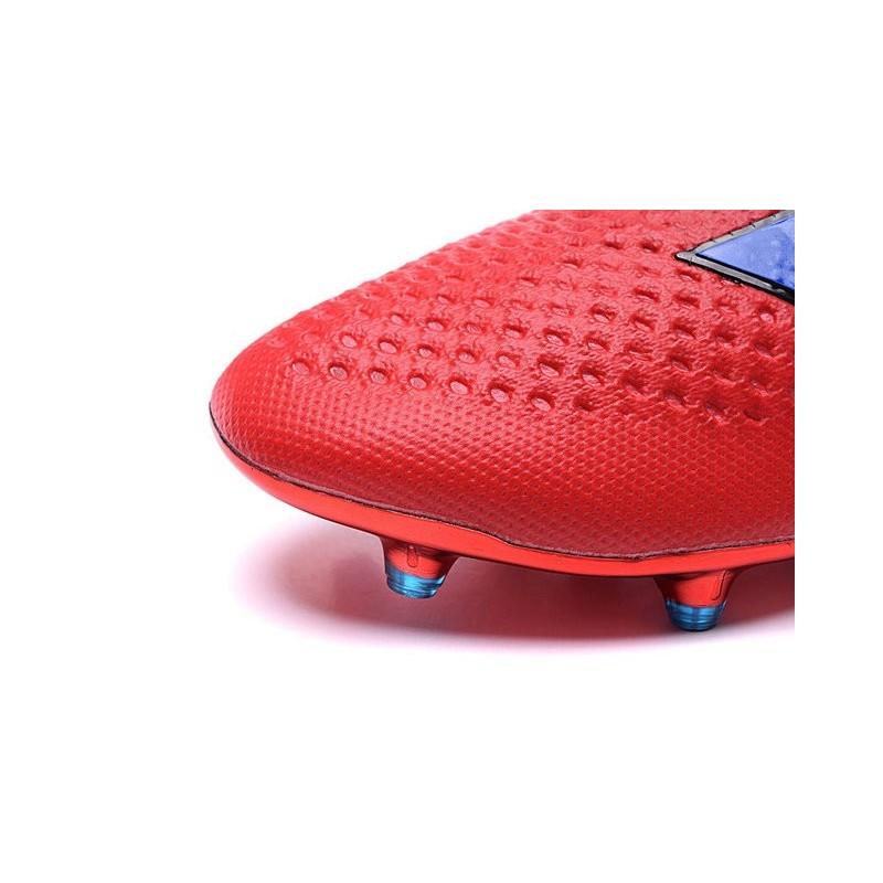 competitive price 061a9 b8672 Neuf Adidas Foot Purecontrol Bleu Fgag Ace16 Rouge De Crampons wnFYOxx