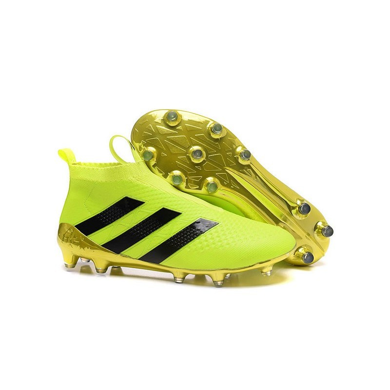 crampons de foot adidas ace16 purecontrol fg ag neuf volt. Black Bedroom Furniture Sets. Home Design Ideas