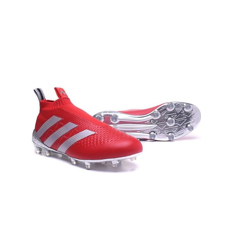 Crampon Pogba Foot Argent Purecontrol Adidas Fg Rouge De Ace16 Paul E5UqA