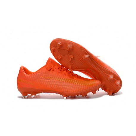Nike Chaussure de Foot Nouvel 2016 Mercurial Vapor XI FG Orange