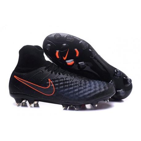 Nike Magista Obra 2 FG Nouveaux Chaussures Homme Noir Orange