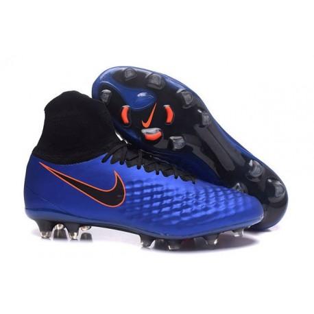 Nike Magista Obra 2 FG Neuf Chaussure Homme Bleu Noir