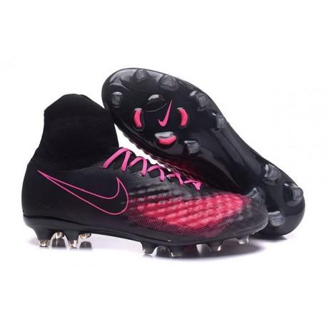 Nike Magista Obra 2 FG Neuf Chaussure Homme Noir Rose