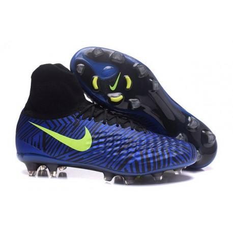 Nike Magista Obra 2 FG Neuf Chaussure Homme Bleu Volt
