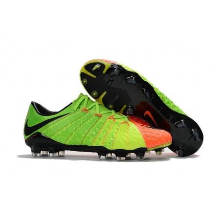 Nike Hypervenom Phantom III FG Nouveautés Crampons - Vert Orange