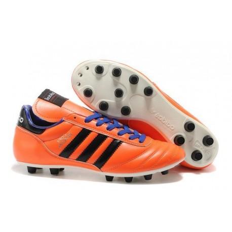 Adidas Copa Mundial FG - Chaussures de Foot à Crampons Moulés Solar Zest