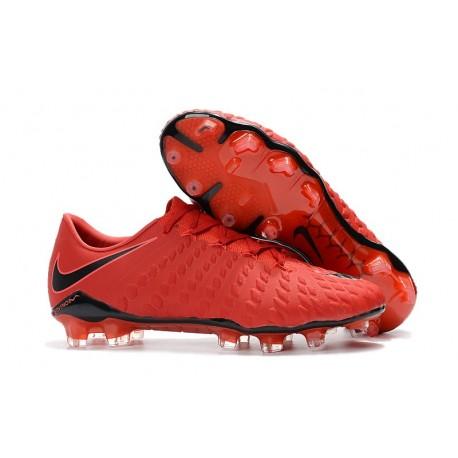 chaussures nike hypervenom rouge