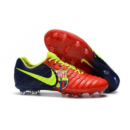 Chaussures de Foot Nouvelles Nike Tiempo Legend 7 FG - Barcelona