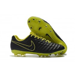 Nike Crampons de Football Tiempo Legend VII FG - Noir Jaune