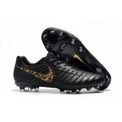 Chaussure Football Nike Tiempo Legend VII FG - Noir Or