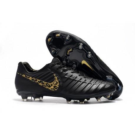 Chaussure Football Nike Tiempo Legend VII FG - Noir Or