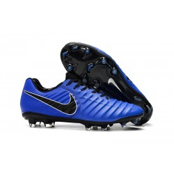 Chaussure Football Nike Tiempo Legend VII FG - Bleu Noir