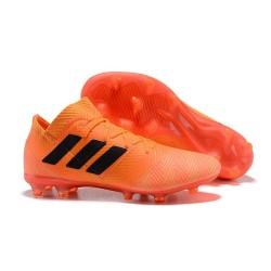 adidas Nemeziz Messi 18.1 FG Chaussures - Orange Noir