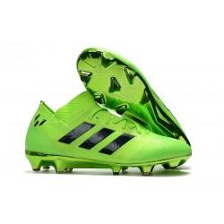 adidas Nemeziz Messi 18.1 FG Chaussures - Vert Noir