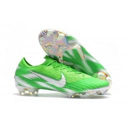 Chaussures de Football Nike Mercurial Vapor XII FG - Vert Argent
