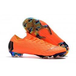 Chaussures de Football Nike Mercurial Vapor XII FG - Orange Noir