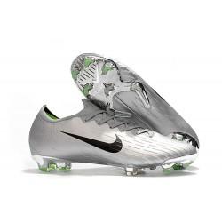 Chaussures de Football Nike Mercurial Vapor XII FG - Argent Noir