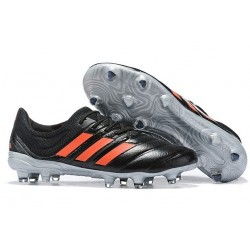 adidas Copa 19.1 FG Crampon de Football Homme - Noir Orange