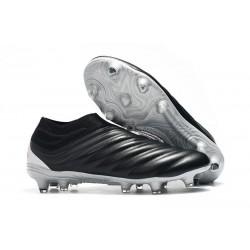 Chaussures Nouveaux adidas Copa 19+ FG Noir Rouge