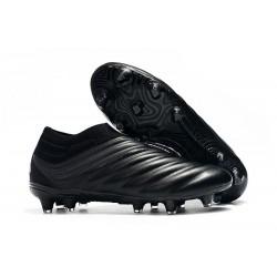 Chaussures Nouveaux adidas Copa 19+ FG Tout Noir