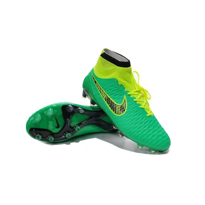 pretty cool 50% off online retailer Nouvelle Chaussures de Football 2015 Nike Magista Obra Fg ACC Vert ...