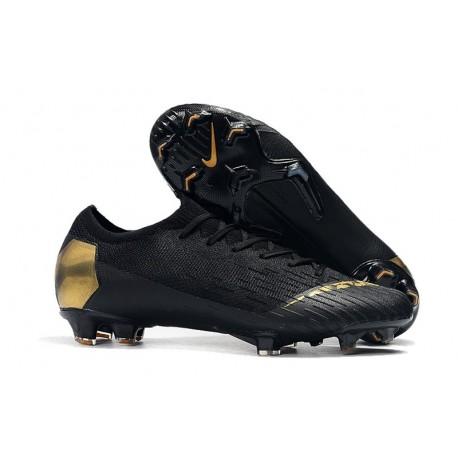 Chaussures Nouvelles Nike Mercurial Vapor XII Elite FG - Noir Or