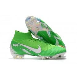 Nike Nouvelles Crampons Mercurial Superfly VI FG - Vert Blanc
