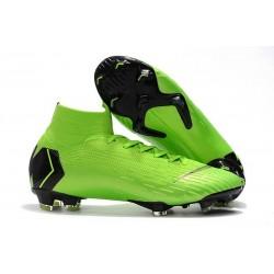Nike Mercurial Superfly VI 360 FG Chaussure Football - Vert Noir