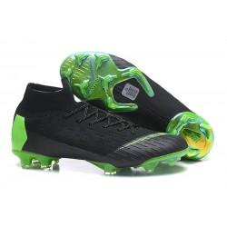 Nike Mercurial Superfly VI 360 FG Chaussure Football - Noir Vert