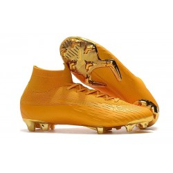 Crampon de Football Nike Mercurial Superfly 6 Elite FG - Or Jaune