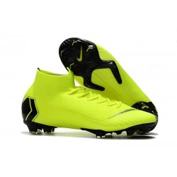 Crampon de Football Nike Mercurial Superfly 6 Elite FG - Volt Noir
