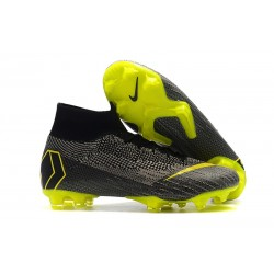 Crampon de Football Nike Mercurial Superfly 6 Elite FG - Noir Jaune