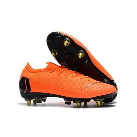 Nike Crampons Mercurial Vapor XII Elite Anti-Clog SG-Pro Orange