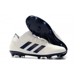 adidas Nemeziz Messi 18.1 FG Chaussures - Blanc Noir
