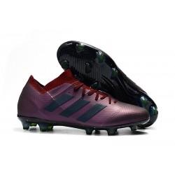 adidas Nemeziz Messi 18.1 FG Chaussures - Violet Noir