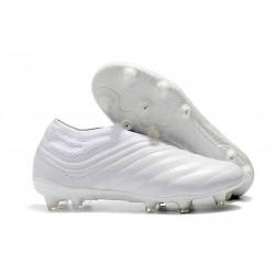 Chaussures Nouveaux adidas Copa 19+ FG Blanc